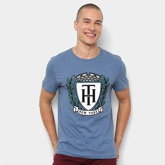 e94be4273a Camiseta Tommy Hilfiger Estampa New York Masculina