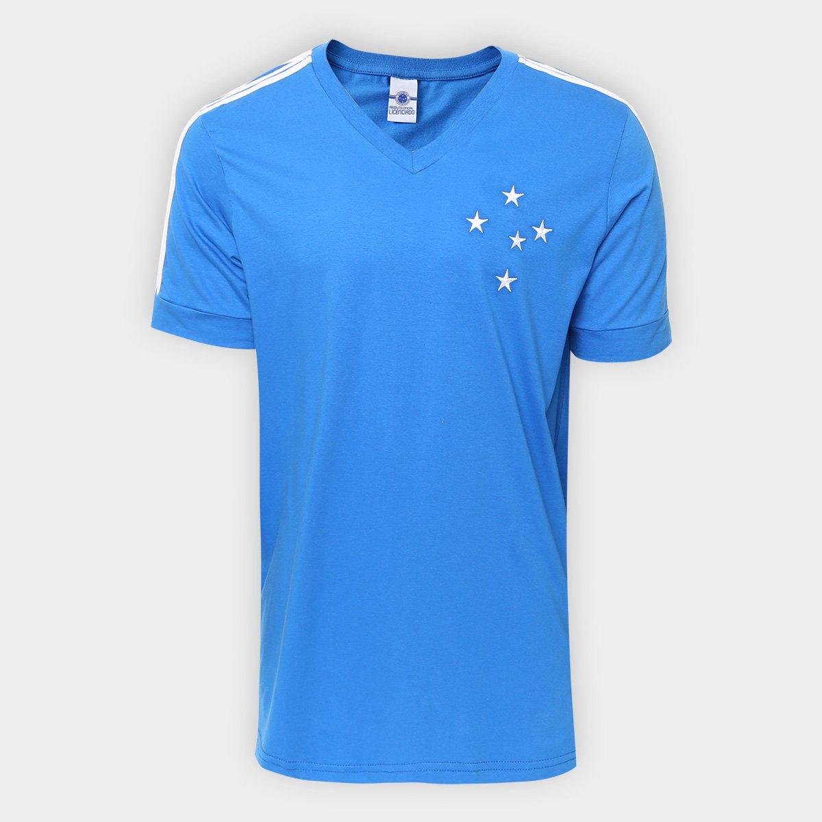 46c5764e463cc Camiseta Cruzeiro Réplica 1987 Masculina