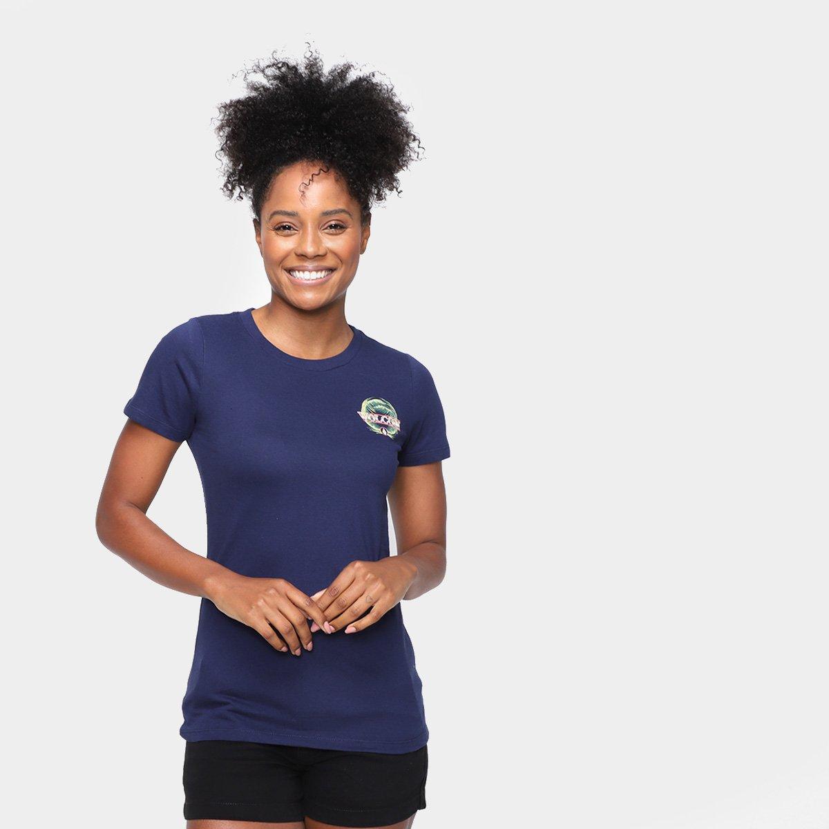 Camiseta Volcom Dial Feminina