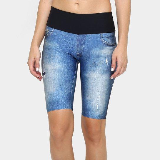 b5d996b98 Bermuda Ciclista Favorite Jeans Feminino - Compre Agora