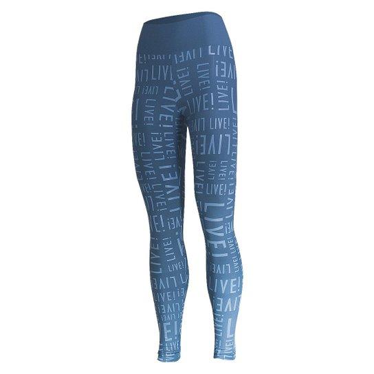 eb3072cb1f Calça Legging Live Essential - Azul - Compre Agora