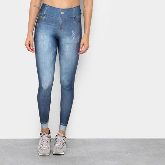 f3da2c362b Calça Legging Live Jeans Plus Motivation Feminina - Compre Agora ...