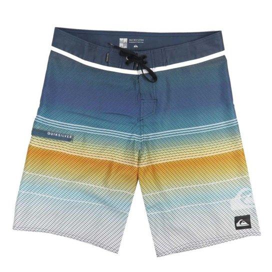 ed8855f5cf Bermuda Água Quiksilver Tech Masculina - Azul - Compre Agora