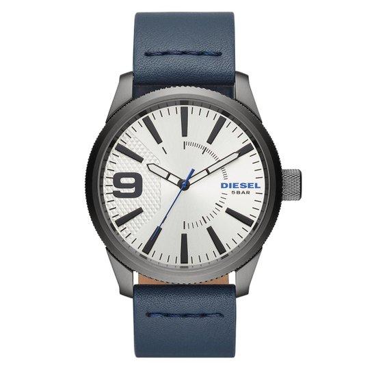 5dd0ee10b97 Relógio Diesel Masculino Rasp NsbbDZ1859 0AN DZ1859 0AN - Azul ...