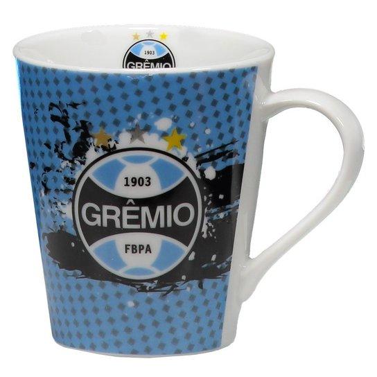 28d76b8e8d Caneca de Porcelana Grêmio 300ml - Azul - Compre Agora