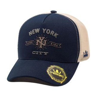 9ef907c978 Boné Overking Aba Curva Trucker New York City