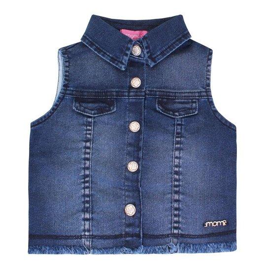 Colete Jeans Momi Dog - Azul - Compre Agora  b930090bad8e1