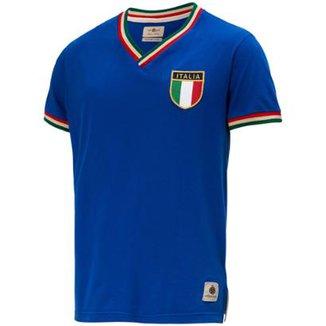 Camisa Retrô Gol Seleção Itália Edição Limitada Masculina 76cf7c2c8ab0c