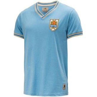 050cc21cafa9e Camisa Retrô Gol Seleção Uruguai Edição Limitada Masculina