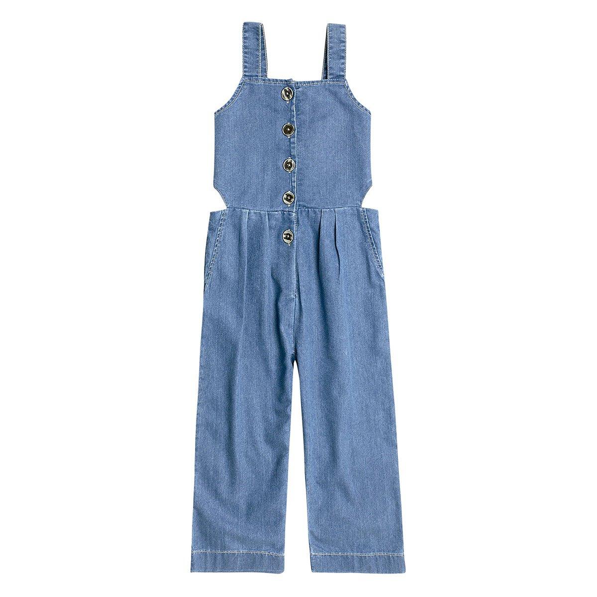 Macacão Juvenil Hering Jeans Feminino