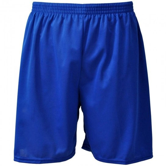 Calção Futebol Nata Reforçado Masculino - Azul - Compre Agora  ace7bb5a3e092