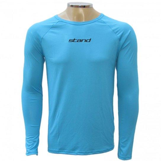 Camiseta térmica Stand Underthermic M L - Azul - Compre Agora  30ec0faab4245