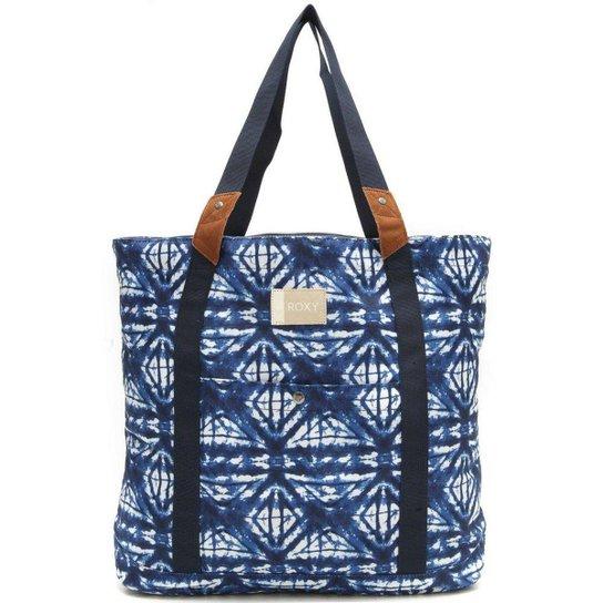114303610 Bolsa Roxy Other Side Feminina - Azul   Netshoes