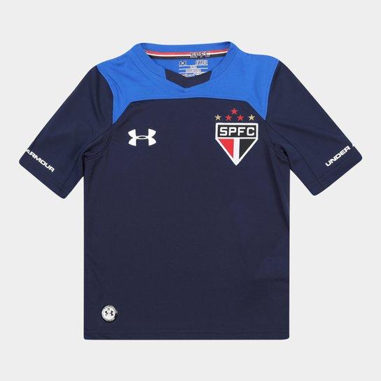 Camisa São Paulo Infantil Goleiro 17 18 s nº Under Armour - Compre ... cb3074ac5da11