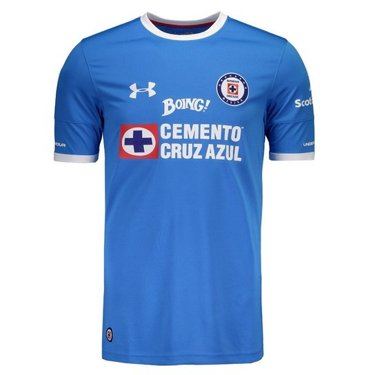 Camisa Under Armour Cruz Home 2017 - Compre Agora  860577371493e