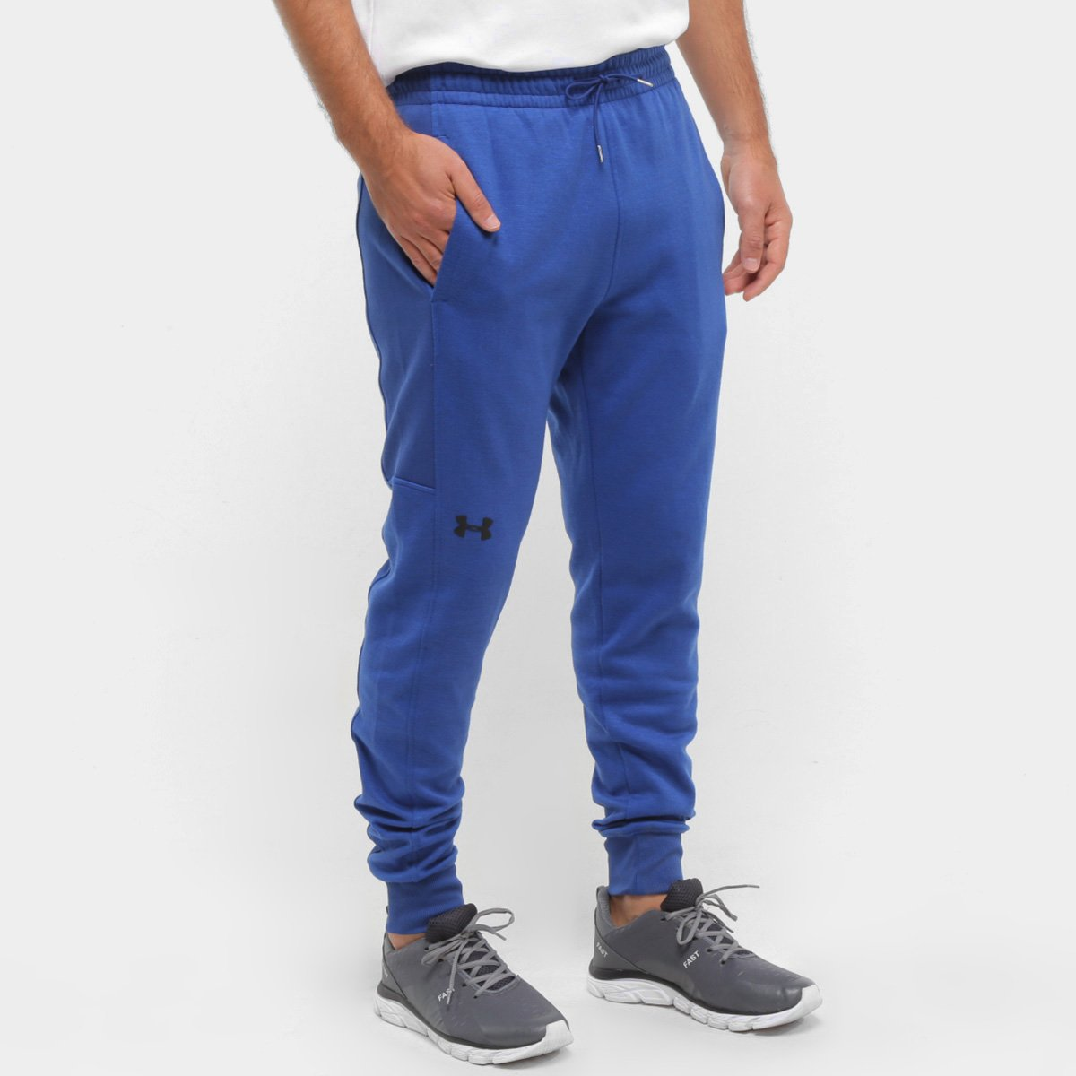 Calça Jogger Moletom Under Armour Cal A Double Knit Masculina
