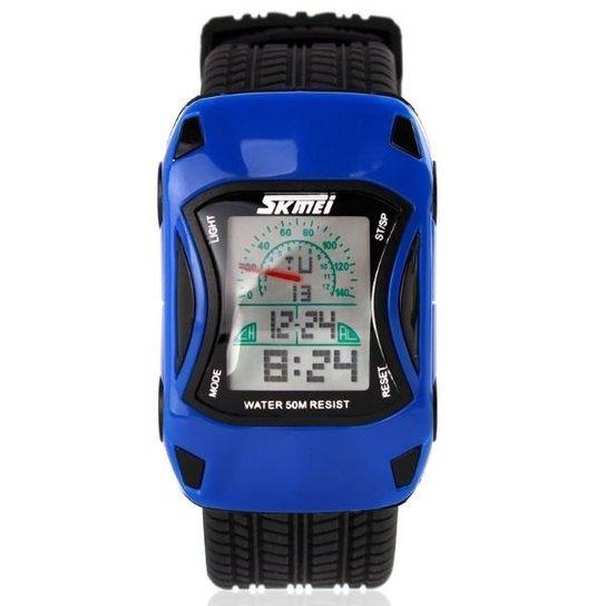 cad04e720ce Relógio Skmei Digital 0961 - Azul - Compre Agora