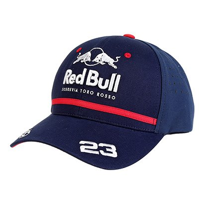 Boné Red Bull Toro Rosso Alexander Albon Aba Curva Masculino