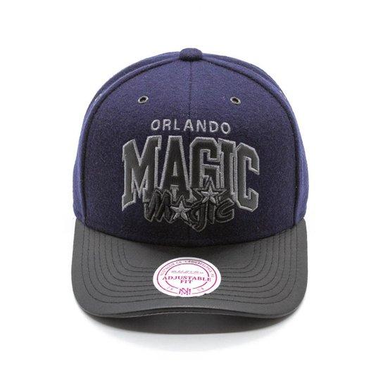 quality design 0ace4 d8694 Boné Mitchell   Ness Blazer NBA Orlando Magic Snapback - Azul+Preto