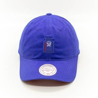 Boné Mitchell   Ness Small Jers Dad Hat NBA New Jersey Nets Dad Hat 071d4ba3db0