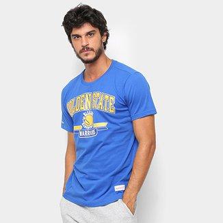 f292dc637d53e Camiseta NBA Golden State Warriors Mitchell   Ness 3 Pontos Masculina