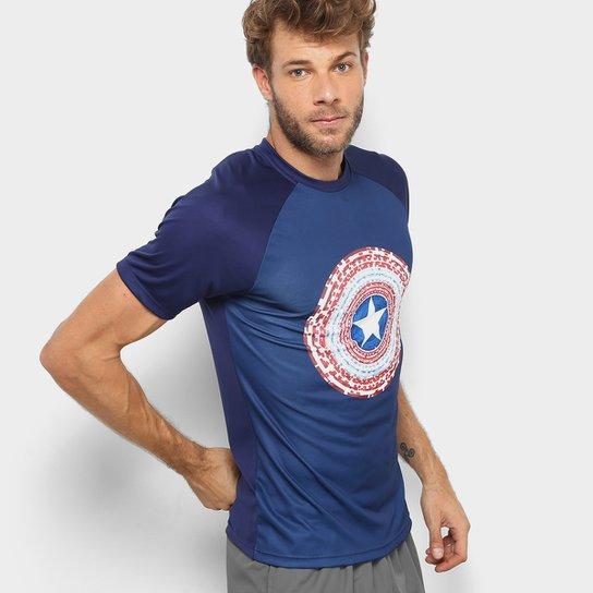 Camiseta MARVEL Capitão América Masculina - Compre Agora  2bfd9fdb39042