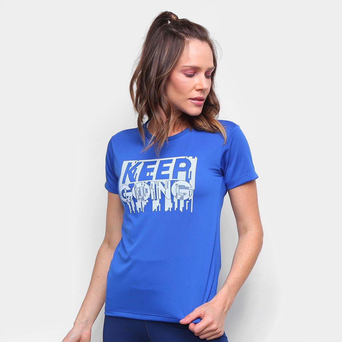 Camiseta Gonew Keep Going Feminina