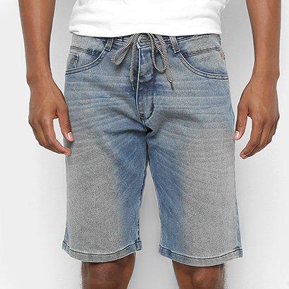 Bermuda Jeans HD LY Cordão Lavagem Masculina