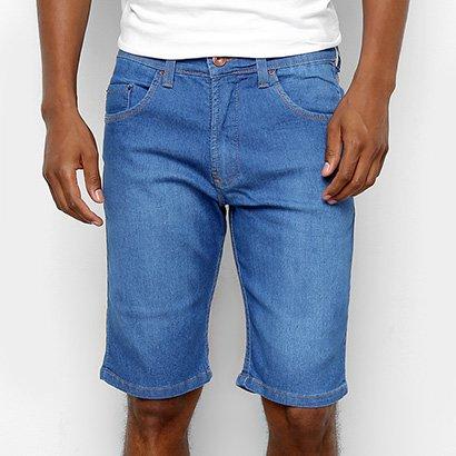 Bermuda Jeans HD Slim Confort Masculina