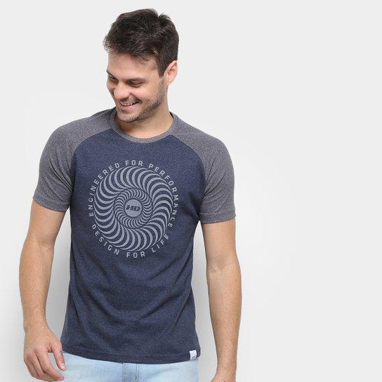 728bf1b087 Camiseta HD Raglan Crazy Masculina - Azul - Compre Agora