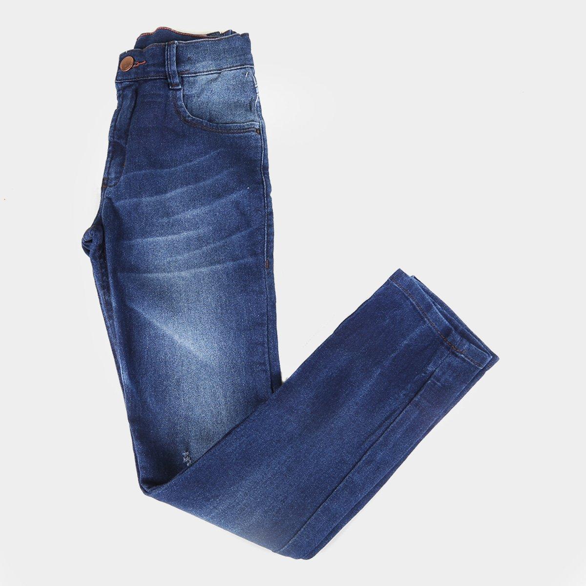 Calça Jeans Slim Juvenil HD Comfy