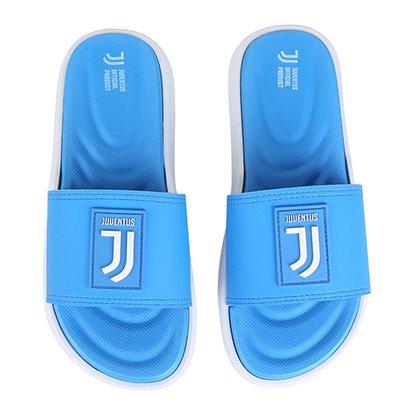 Chinelo Infantil Grendene Kids Rider Juventus Slide