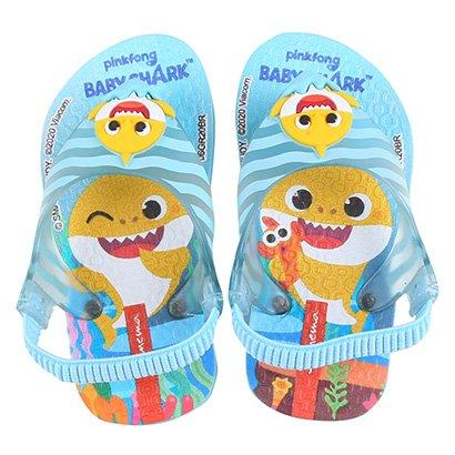 Chinelo Infantil Grendene Kids Ipanema Baby Shark
