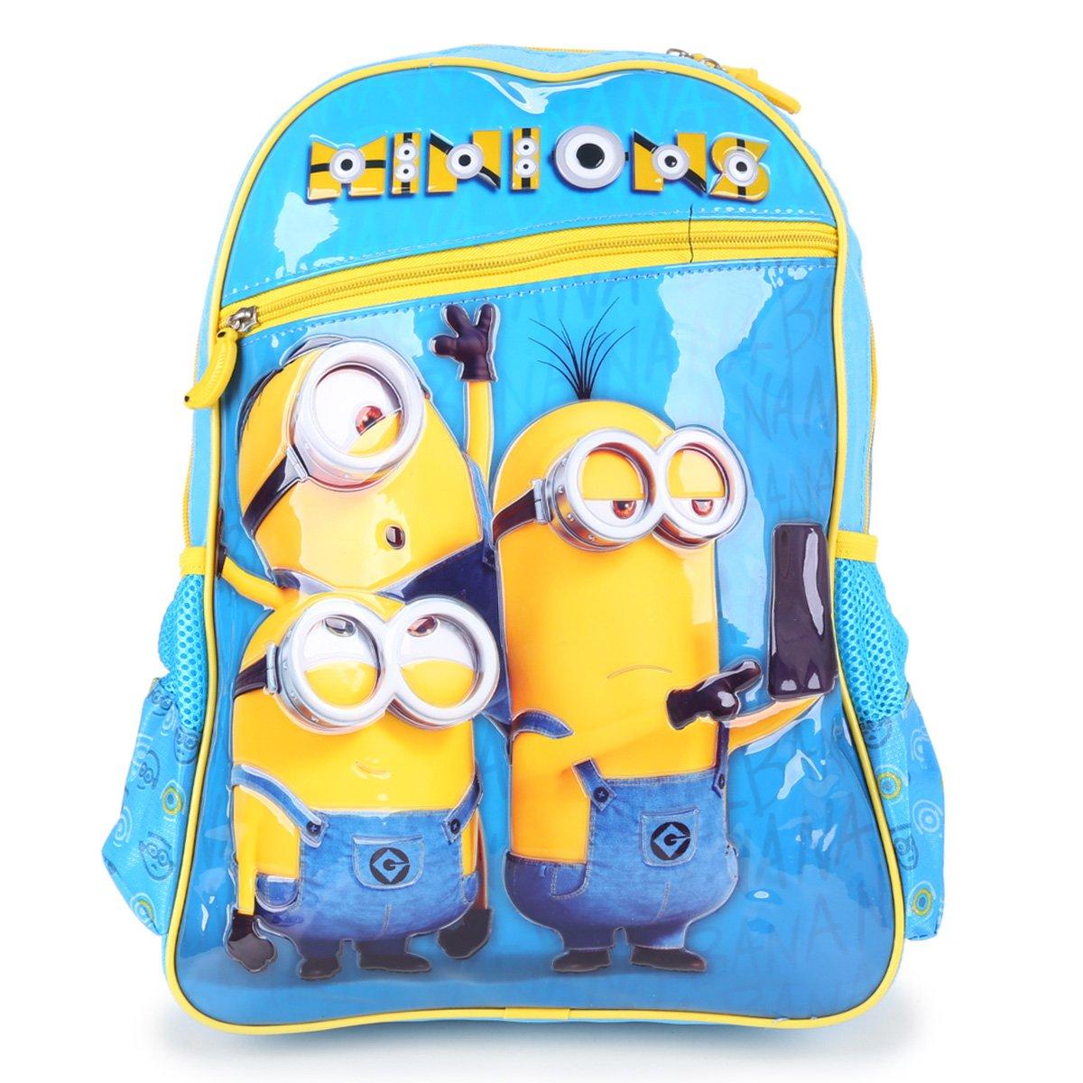 Mochila Escolar Infantil Clio Style Minions Masculina