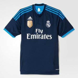 Camisa Real Madrid 2015 - Uniforme III - Adidas 9f139045793a8