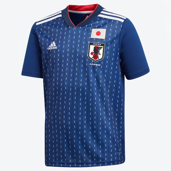 45e0123196a88 Camisa Seleção Japão Infantil Home 2018 s n°Torcedor Adidas - Compre ...