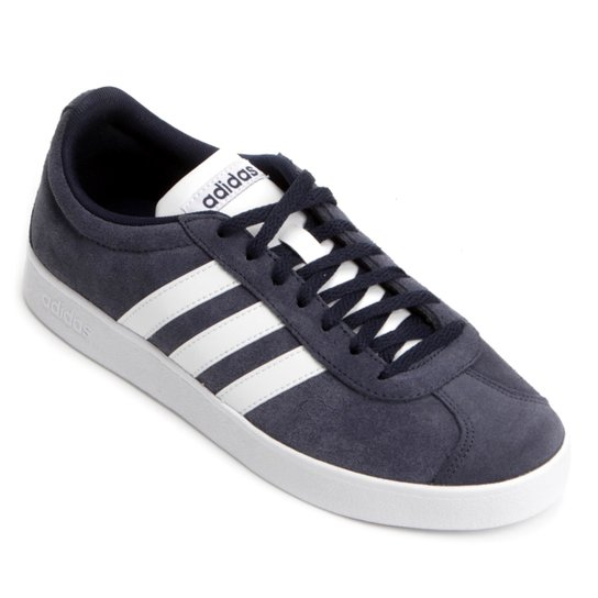 Tênis Adidas Vl Court 2 Masculino - Azul - Compre Agora  dea0f313af3b3
