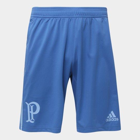 Bermuda Palmeiras Adidas Treino Masculina - Azul - Compre Agora ... 06dd63acc0ef6