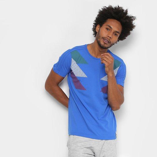 078e6603f6 Camiseta Seleção Itália CI Adidas Masculina - Azul - Compre Agora ...