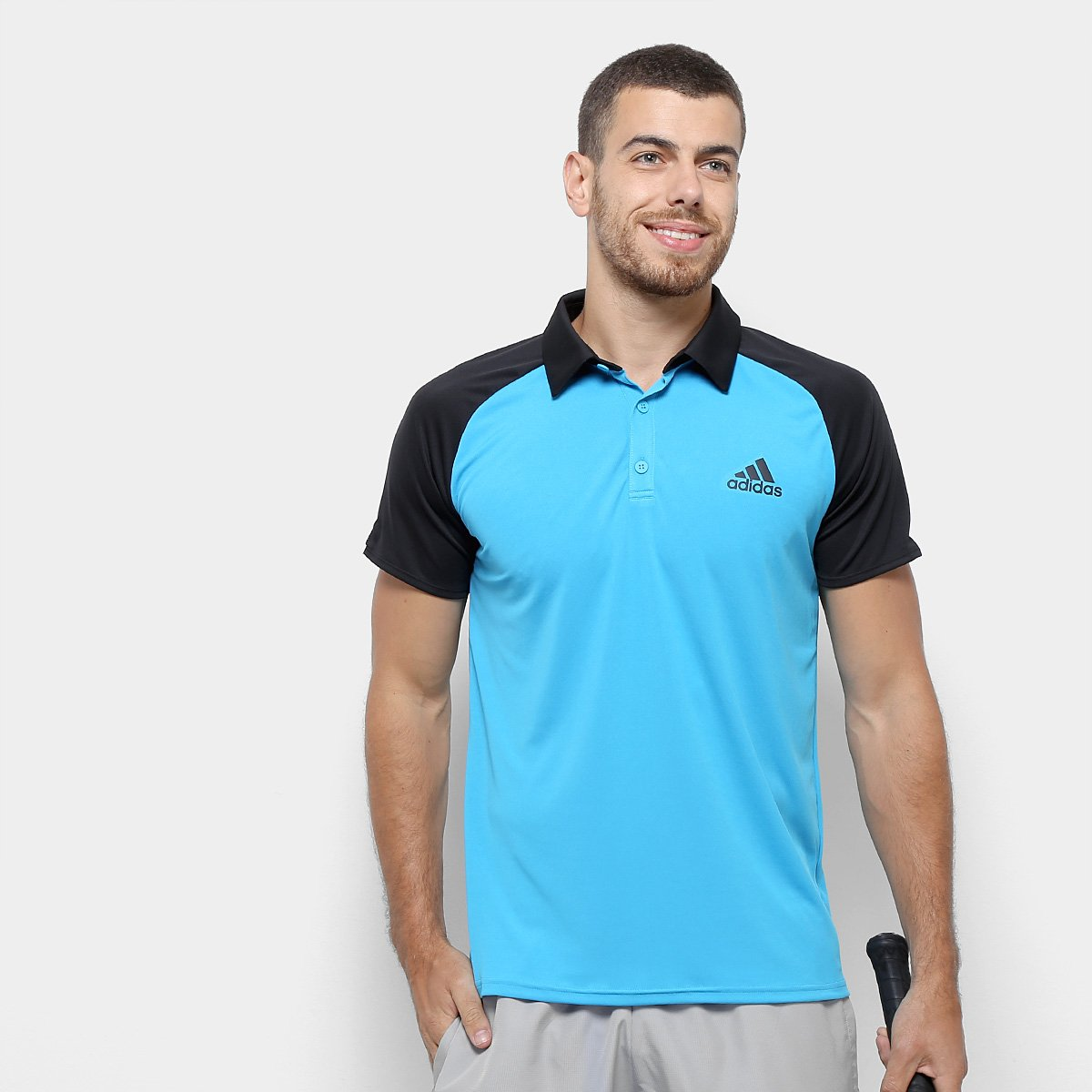 947a0922abb Camiseta Polo Adidas Club TD Masculina