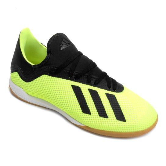 Chuteira Futsal Adidas X Tango 18 3 IN - Amarelo e Preto - Compre ... 597292c878d15