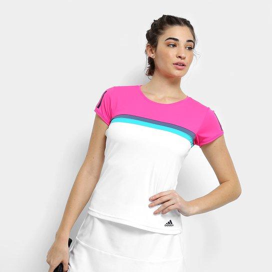5aa18c8599bb8 Camiseta Adidas Club Feminina | Netshoes