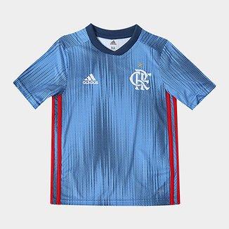Camisa Infantil Flamengo III 2018 s n° - Torcedor Adidas 695c6c62fcca9