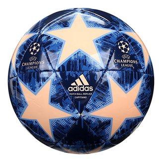 Bola de Futebol Campo Uefa Champions League Adidas Finale 18 Capitano 11fb505b2254b