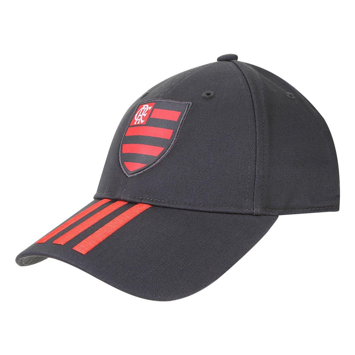 579261629acfa Boné Adidas Flamengo 3Stripes Aba Curva | Livelo -Sua Vida com Mais ...