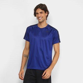 9da81a7e785 Camiseta Adidas D2M 3Stripes Masculina