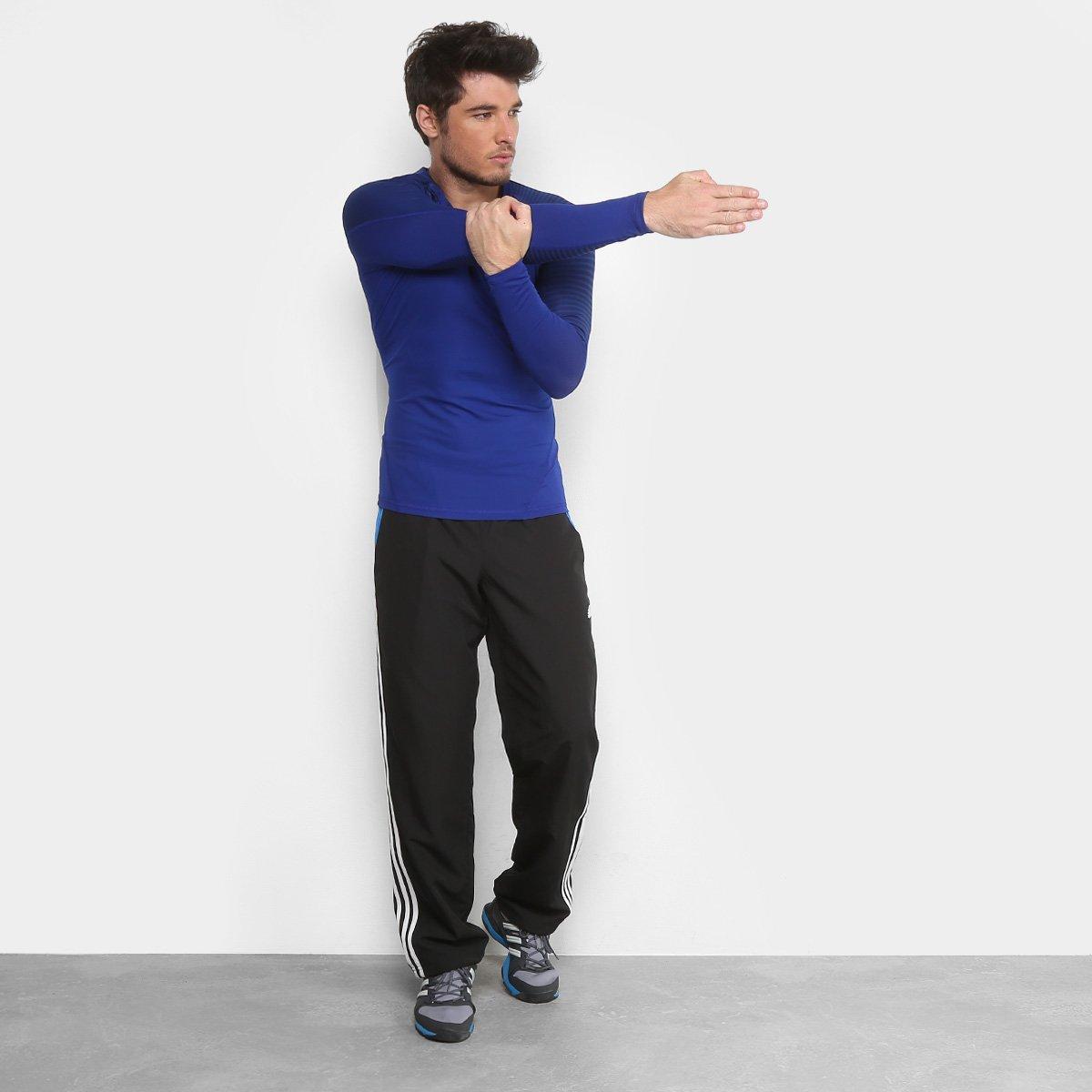 Camiseta Adidas AlphaSkin Sport Graphic Manga Longa Masculina ... 390b1aa3fe5d3