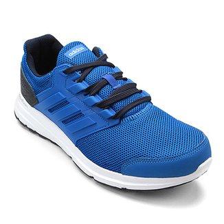 Compre Tenis Adidas Masculino Azul Online  03faa69d37553