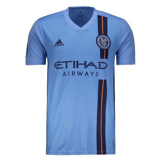 6a49d564293 Camisa Adidas New York City FC Home 2019 Masculina - Azul - Compre ...