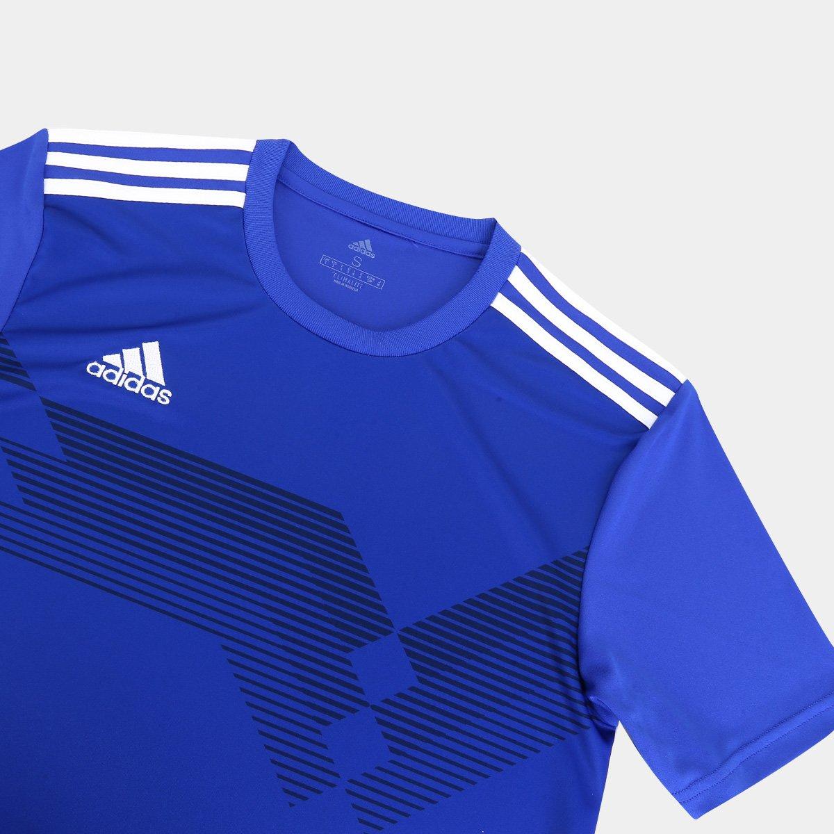 Innecesario claridad Leo un libro  Camisa Adidas Campeon 19 Masculina - Tam: P - Shopping TudoAzul